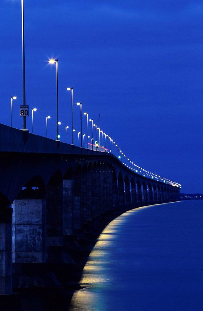 Confederation Bridge, Borden Carleton, Prince Edward Island, Canada : Stock Photo