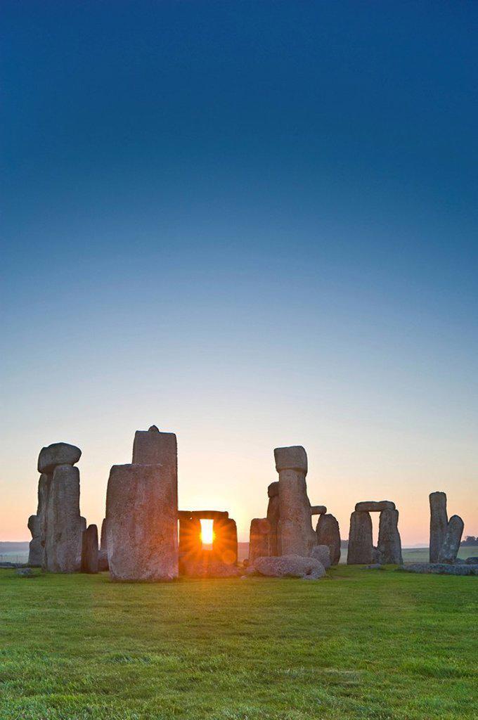 Stock Photo: 1990-34653 Stonehenge, near Salisbury, Great Britain