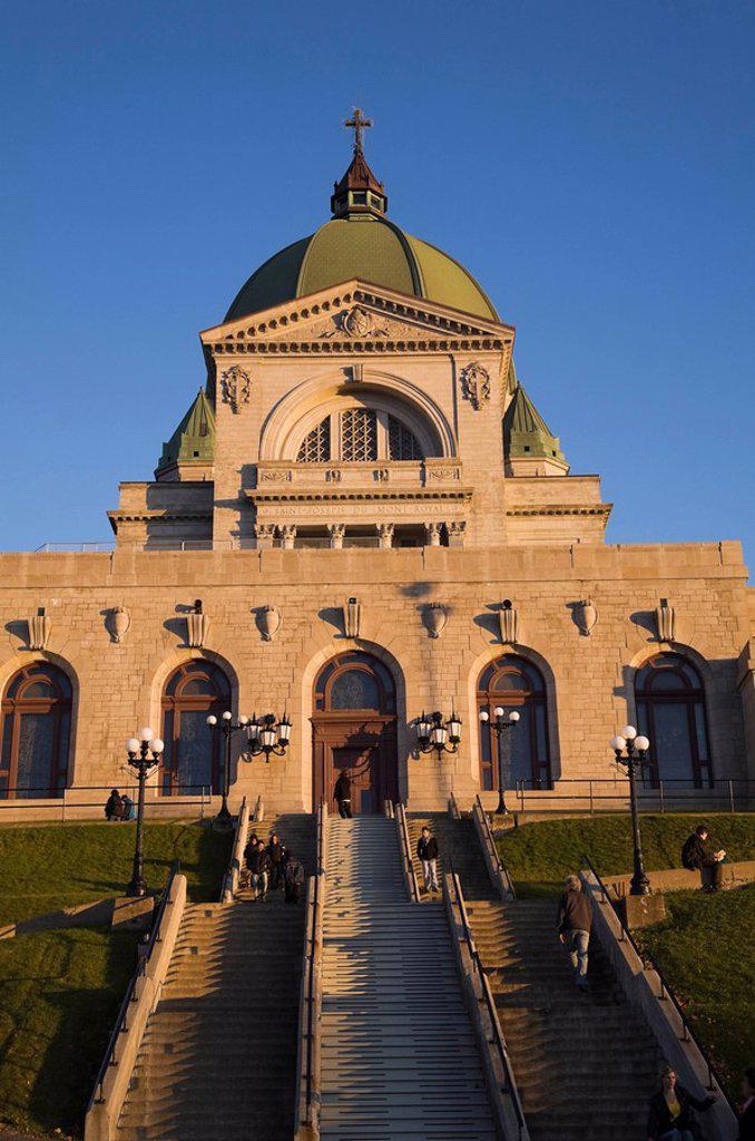 Stock Photo: 1990-35164 Saint Joseph´s Oratory, Montreal, Quebec, Canada