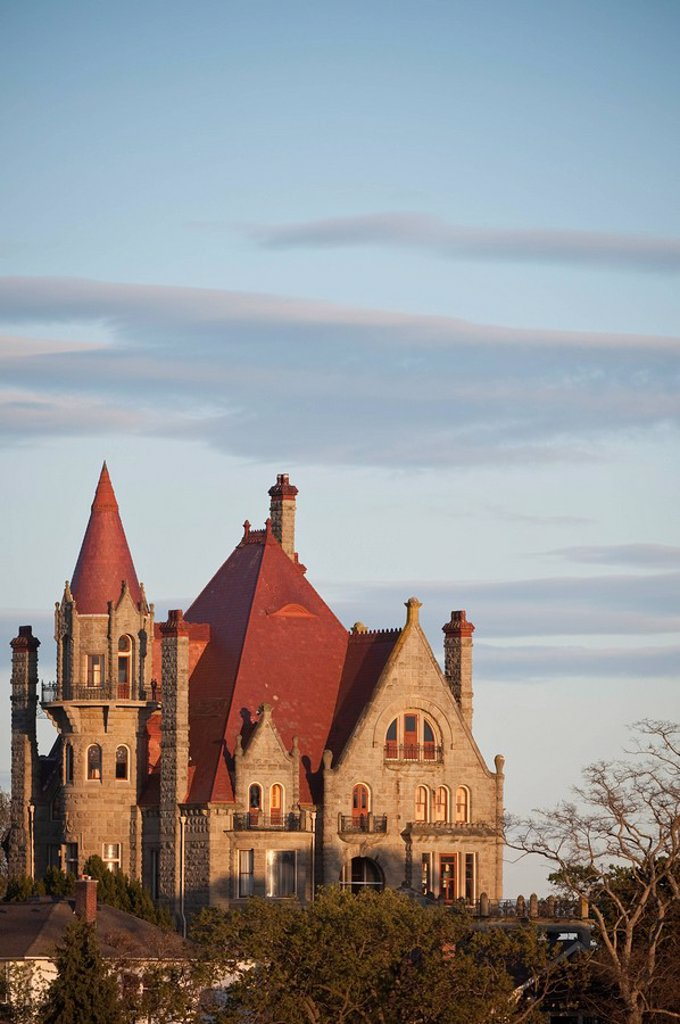 Craigdarroch Castle historic site, Victoria, British Columbia, Canada : Stock Photo