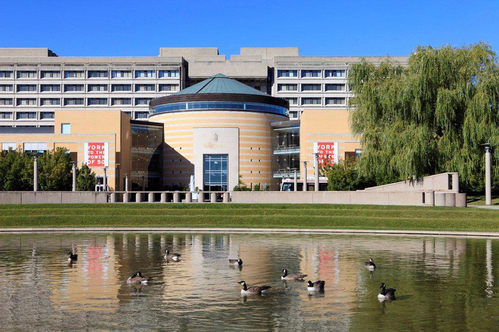 Main Buildings, York University, Ontario, Canada : Stock Photo