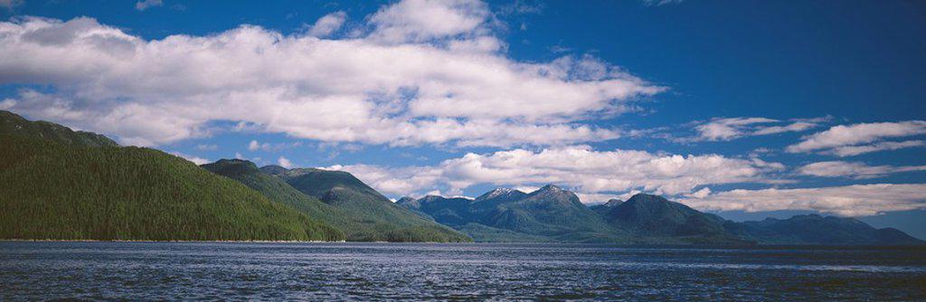 Inside Passage, British Columbia, Canada : Stock Photo