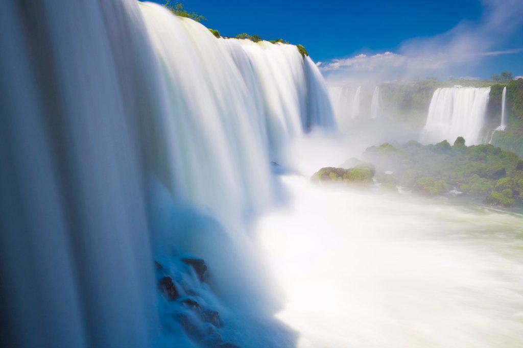 Iguacu Falls National Park, Brazil : Stock Photo