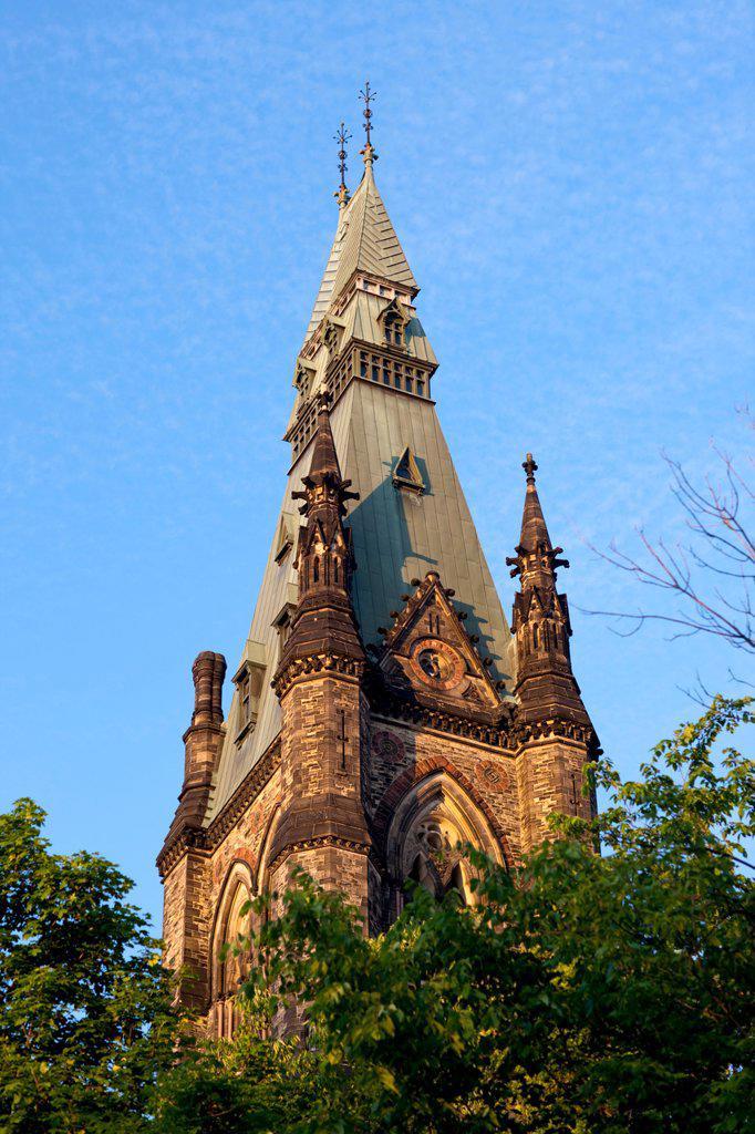 Center Block, Parliament Building, Ottawa, Ontario, Canada : Stock Photo