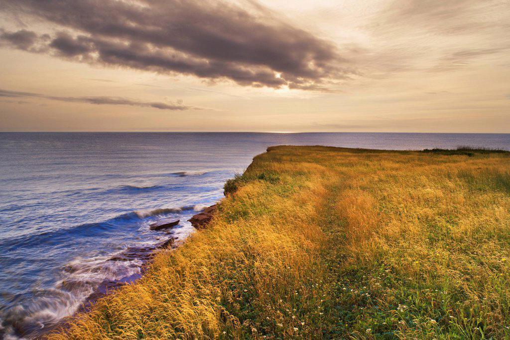 Cape Turner, Prince Edward Island National Park Prince Edward Island, Canada. : Stock Photo