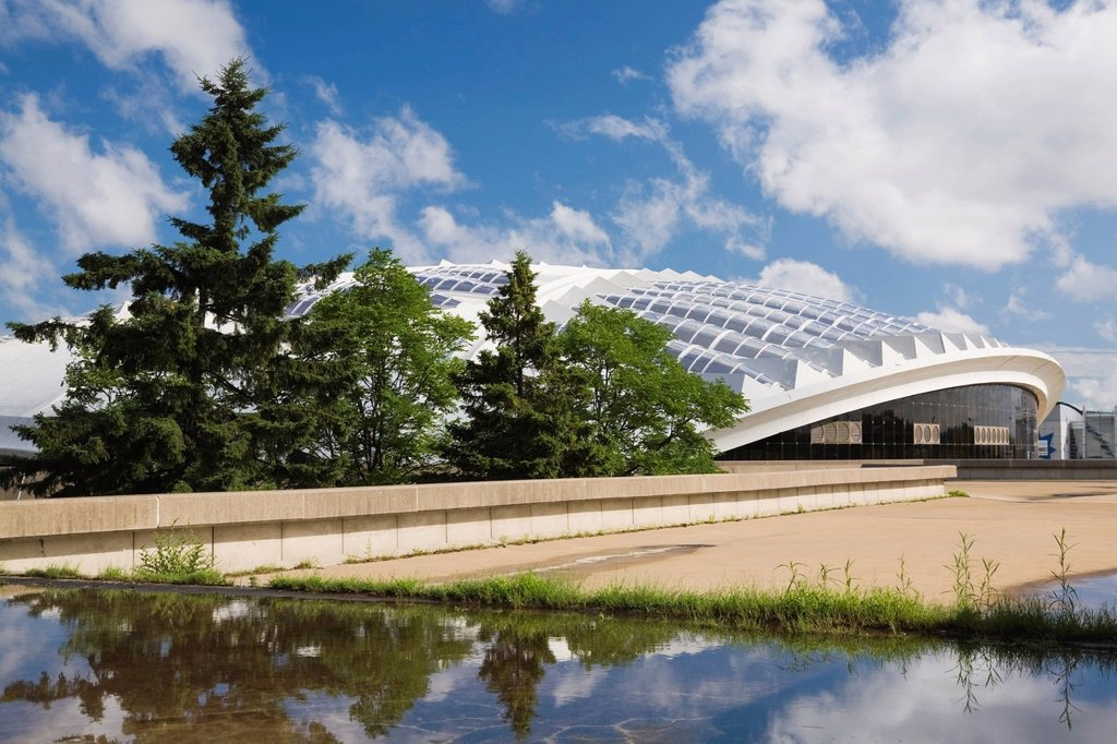 Montreal Biodome building, Montreal, Quebec, Canada : Stock Photo