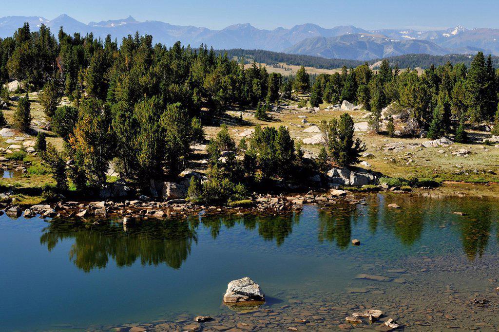 Stock Photo: 1990-63137 Alpine vistas along the Beartooth Scenic Byway, Beartooth Scenic Byway, Wyoming, USA