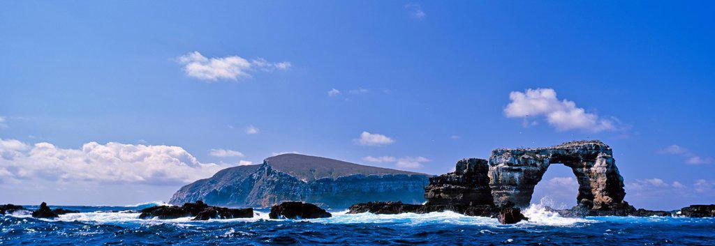 Stock Photo: 1990-66019 Darwin´s Arch, Darwin Island, Galapagos Archipelago, Galapagos Islands, Ecuador