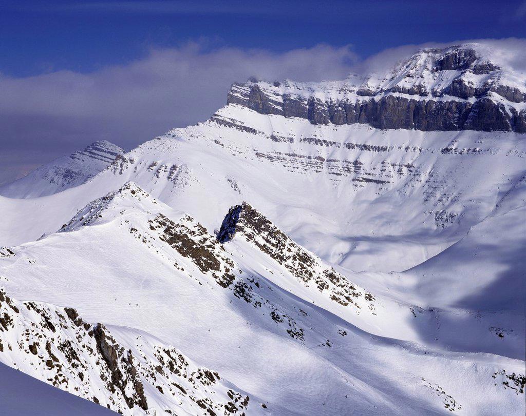 Stock Photo: 1990-68904 Lake Louise Ski Area, Alberta