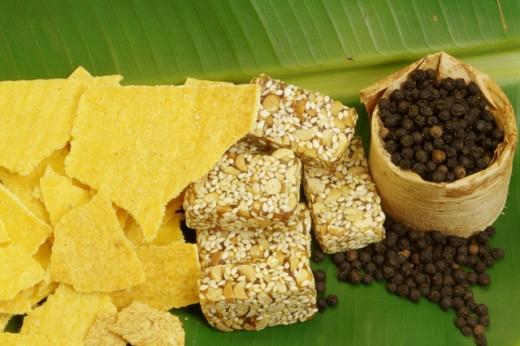 Stock Photo: 2003-1185 Tebaloi, Sesame with Peanuts and