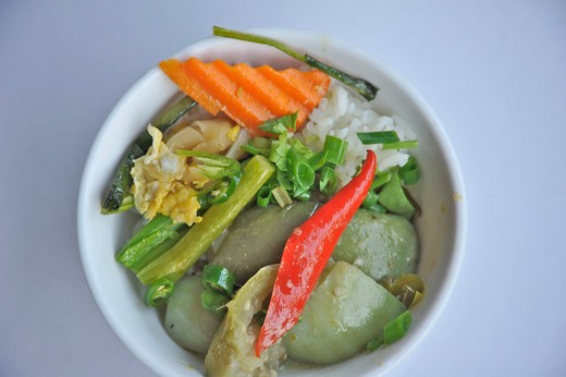Close-up of Thai food in a bowl : Stock Photo