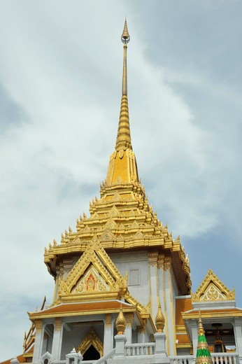 Thailand, Bangkok, Wat Traimit in Chinatown : Stock Photo