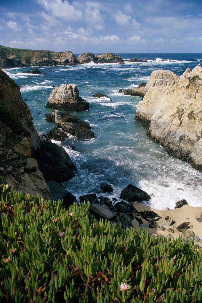 Stock Photo: 2005-1277 Big Sur California USA