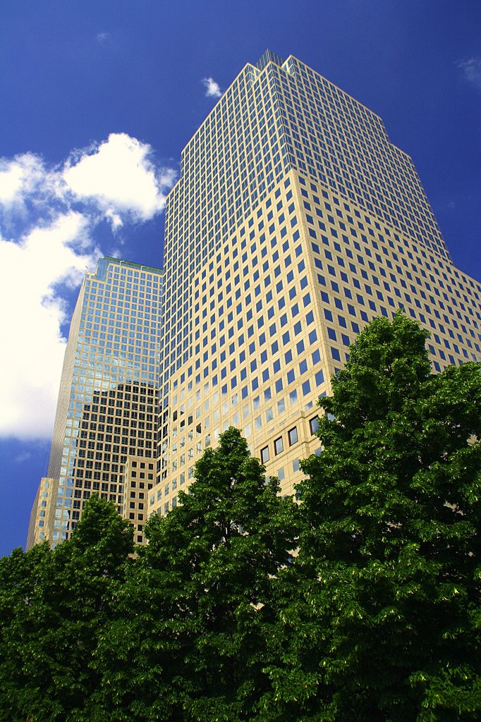 Stock Photo: 2005-594872 USA, New York, New York City, World Financial Center Towers
