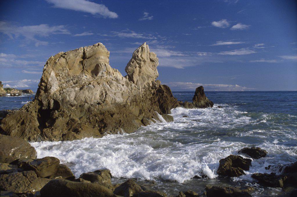 Corona del Mar California USA : Stock Photo
