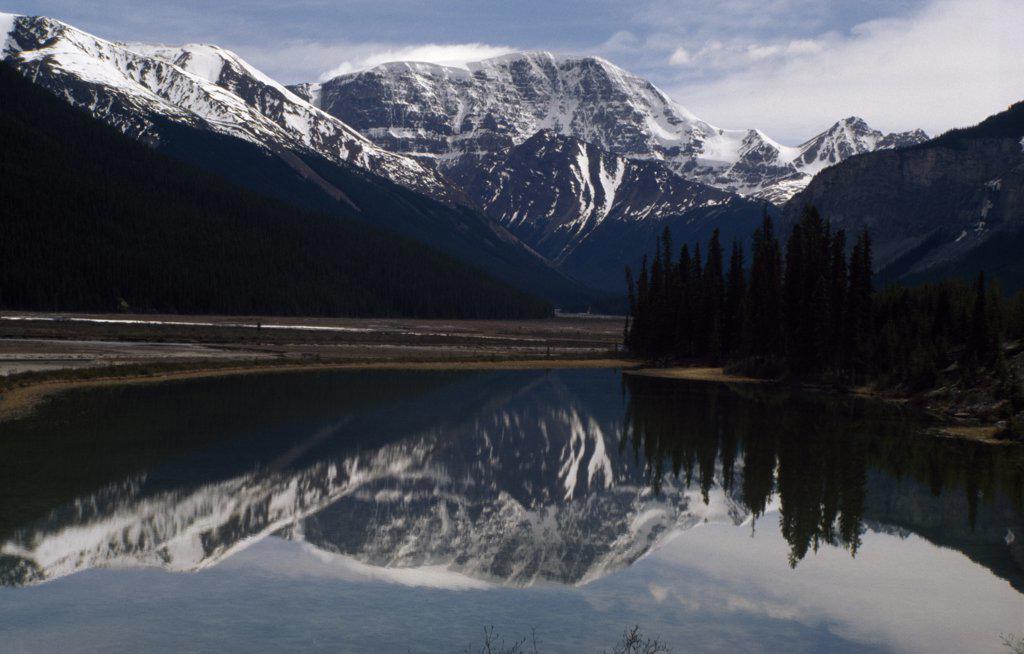 Stock Photo: 2005-898C Sunwapta River Jasper National Park Alberta, Canada