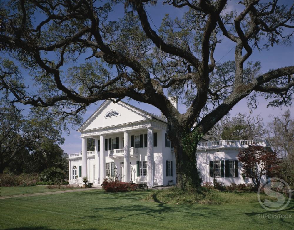 Stock Photo: 2021-413 Orton Plantation North Carolina USA