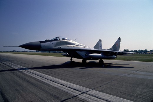 Stock Photo: 2022-206A USSR Mig-29 Aircraft