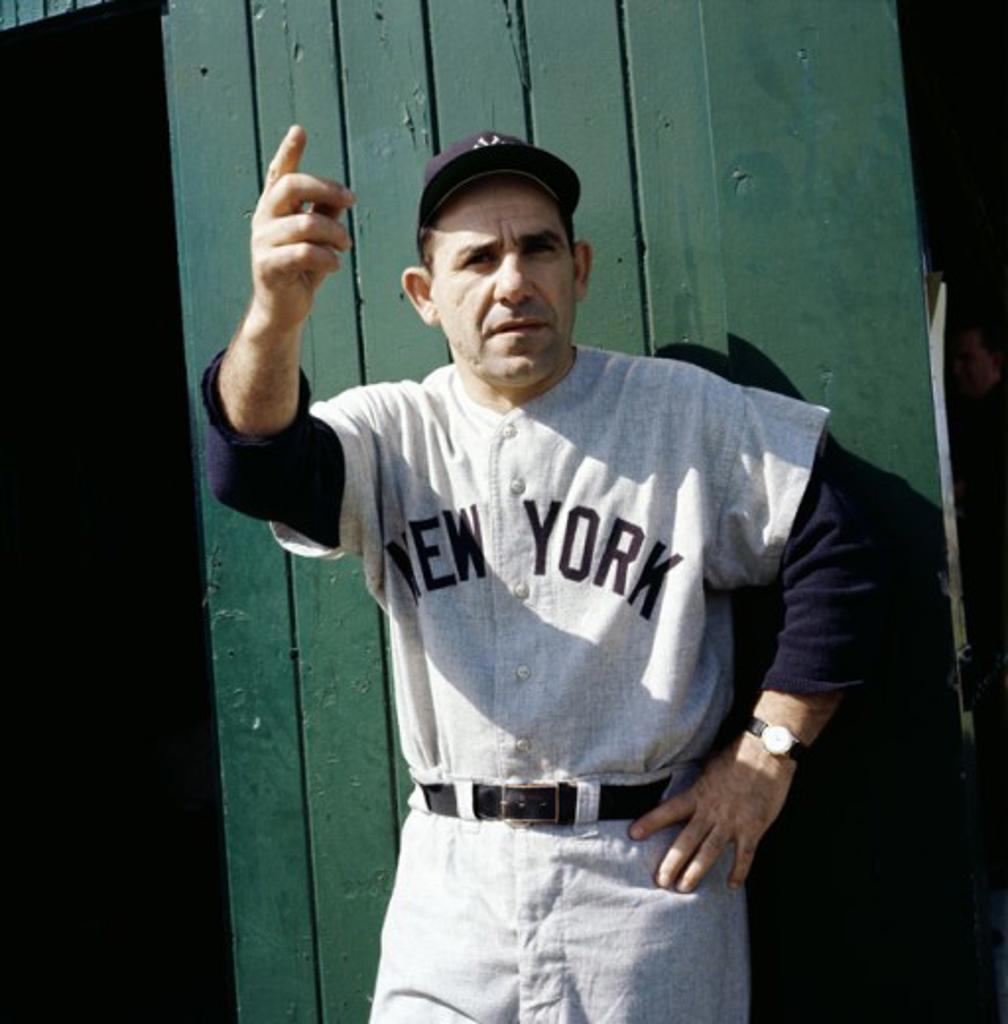 Stock Photo: 2029-377923 Yogi Berra (b.1925) New York Yankees