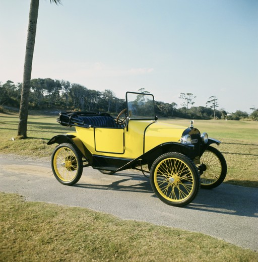 1923 Fronty Ford Speedster : Stock Photo