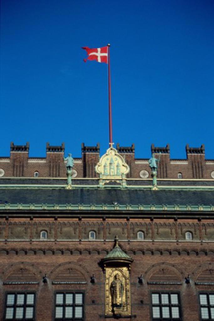 Stock Photo: 2032-2181 Town Hall Copenhagen Denmark