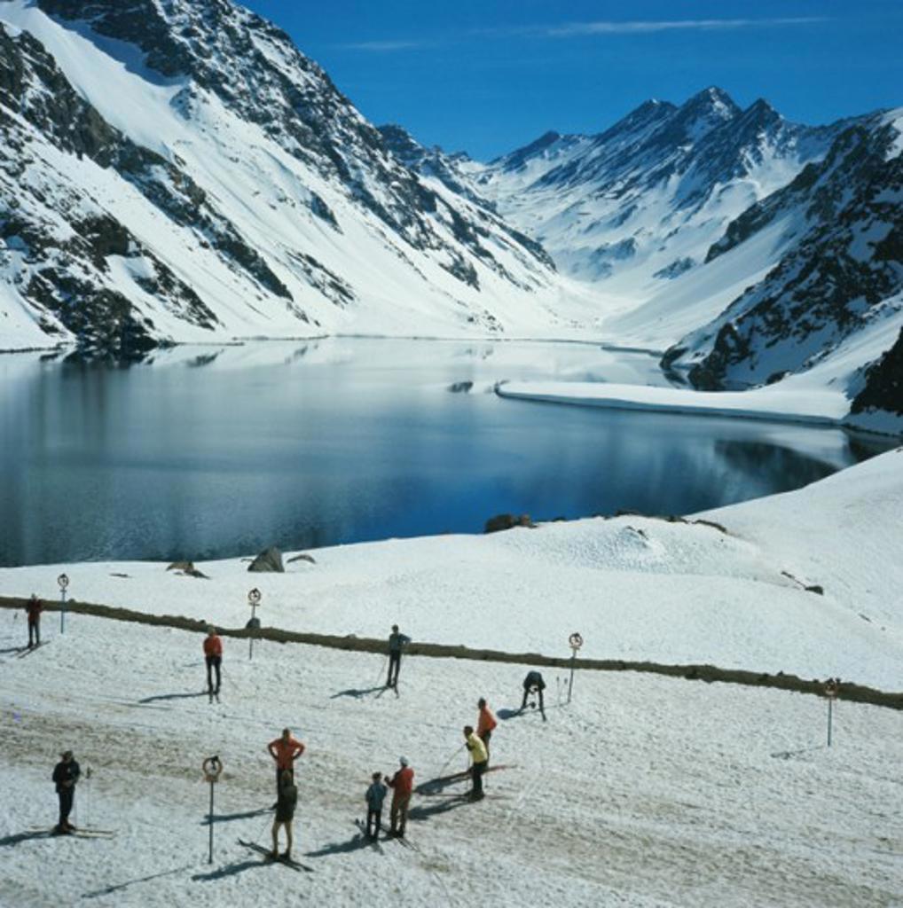 Stock Photo: 2032-469329 Cerro Cathedral  Nahual Haupi National Park Near Bariloche Argentina