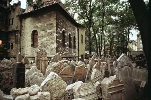 Stock Photo: 2039-355 Old Jewish Cemetery