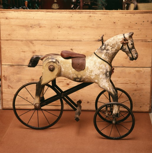 Stock Photo: 2039-543830 Georgian Rocking Horse
