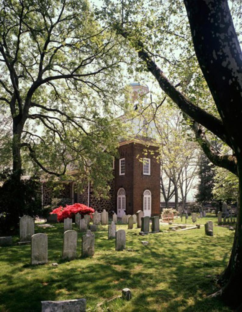 Stock Photo: 2050-135 Holy Trinity Church Wilmington Delaware USA