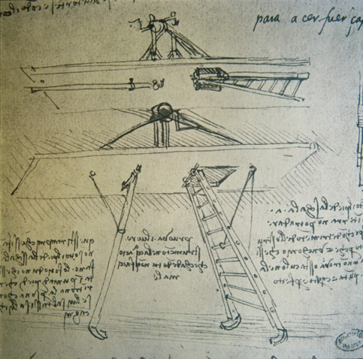 Aviation Drawing (Reversed Lettering)