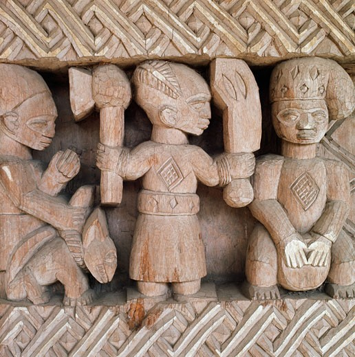 High relief carving george bandele act th century