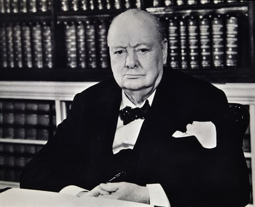 Stock Photo: 2056-272 Winston Churchill