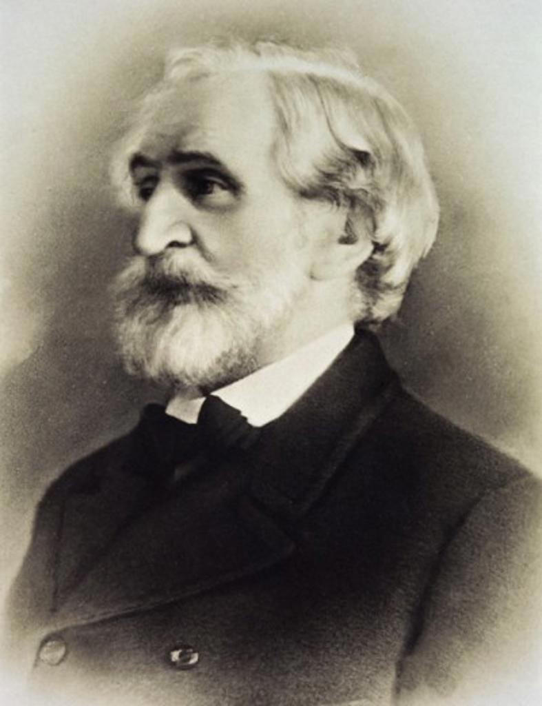 The Composer Giuseppe Verdi Artist Unknown : Stock Photo