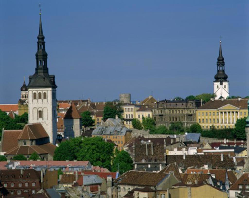 Stock Photo: 2058-1023B Tallinn Estonia