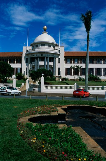 Facade of the Howard College, Durban, South Africa : Stock Photo
