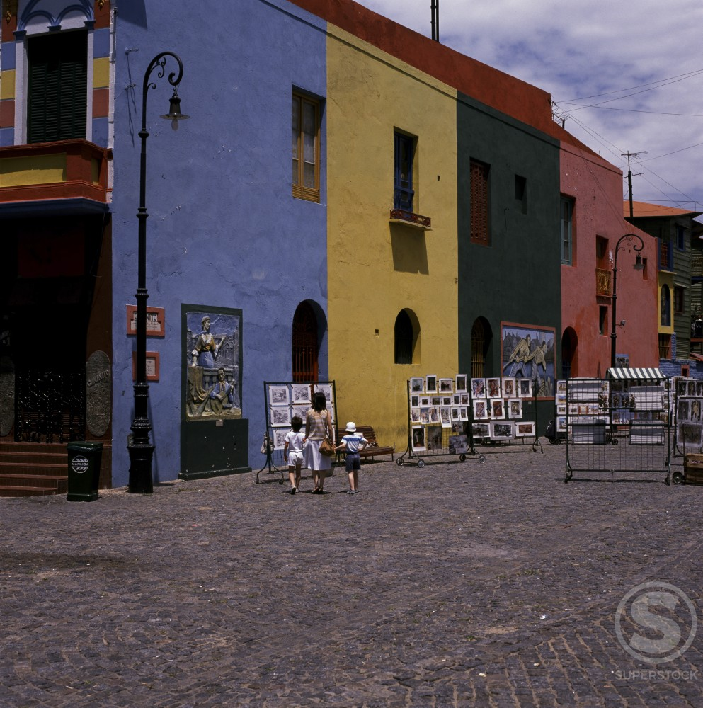 "Stock Photo: 2058-218 ""La Boca"" Buenos Aires Argentina"