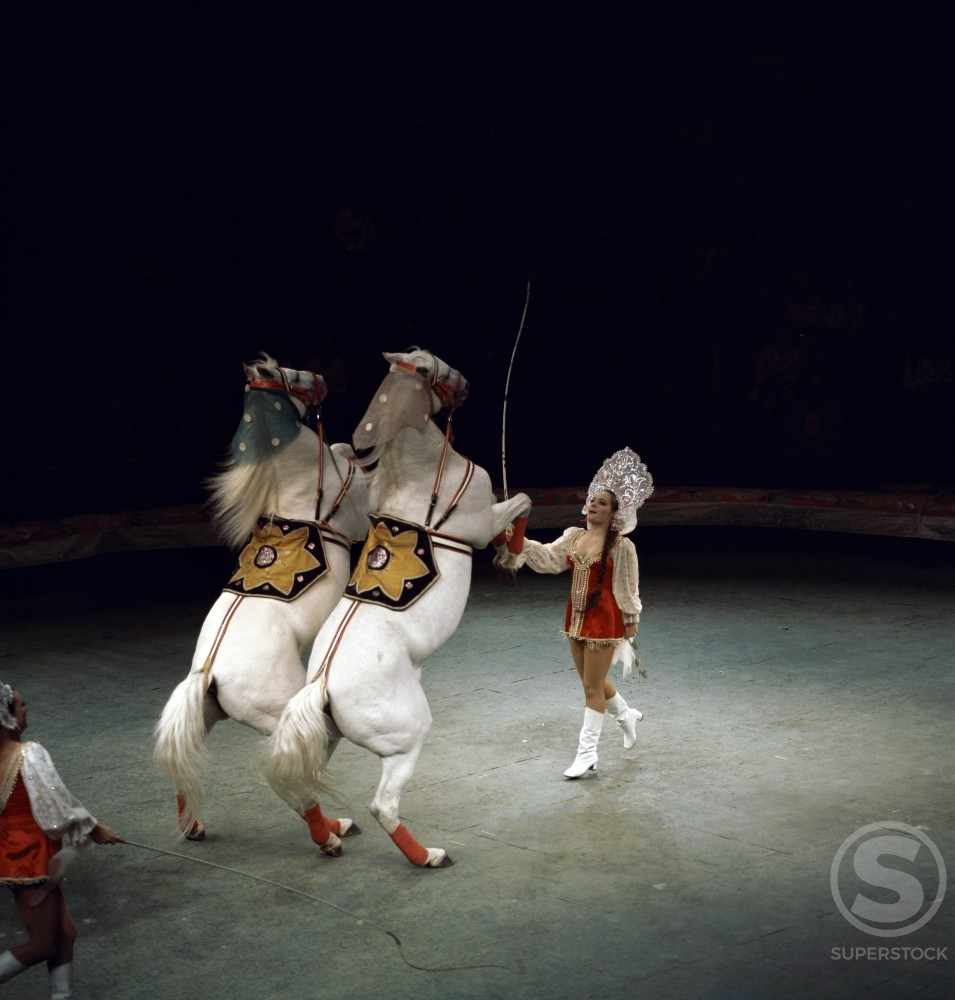 Stock Photo: 2058-471920 Moscow Circus