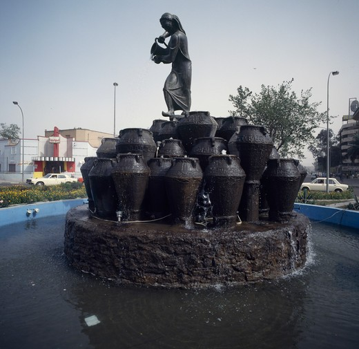 Stock Photo: 2058-523841 Ali Baba Fountain