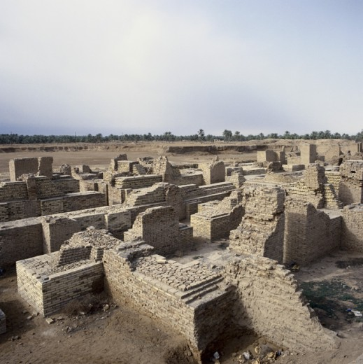 Stock Photo: 2058-523883 Southern Palace of King Nebuchadnezzar