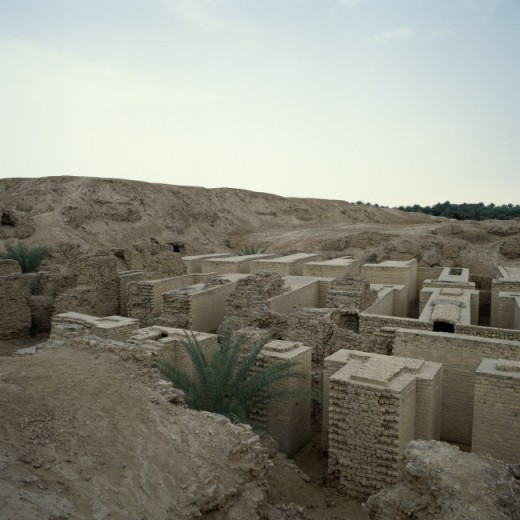 Stock Photo: 2058-523888 Hanging Gardens of Babylon