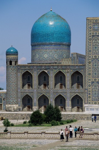 Stock Photo: 2064-1168 Registan Square