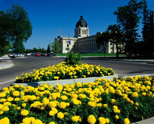 Stock Photo: 2070-1057 Legislative Building, Regina, Saskatchewan, Canada