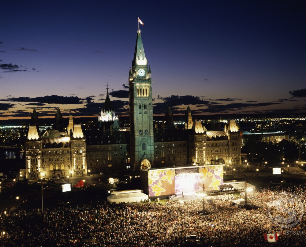Stock Photo: 2070-1331 Canada Day