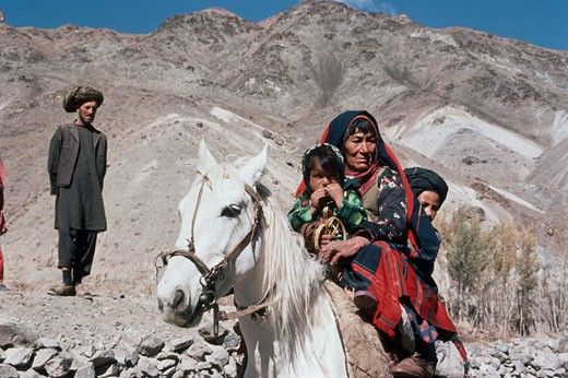 Stock Photo: 2070-407 Bamiyan Valley Afghanistan
