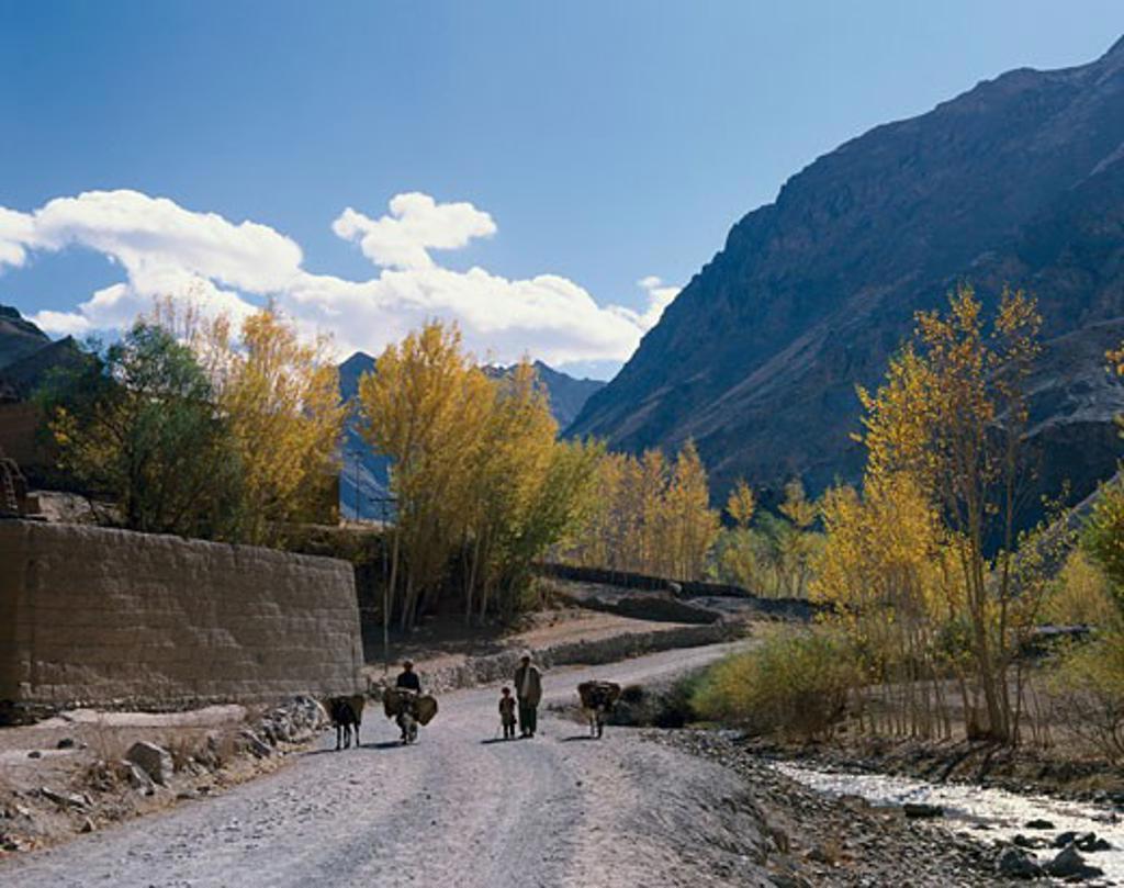 Stock Photo: 2070-469 Hindu Kush Mountains Afghanistan