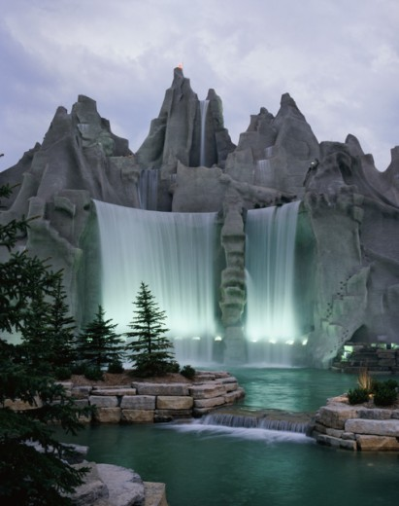 Stock Photo: 2070-571698 Wonder Mountain, Canada's Wonderland Amusement Park, Toronto, Ontario, Canada
