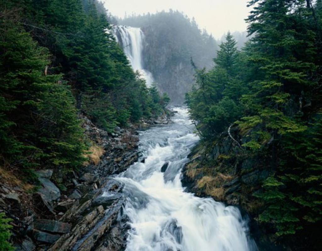 Stock Photo: 2070-588501 Gull Island Falls, Conception Bay, Newfoundland, Canada