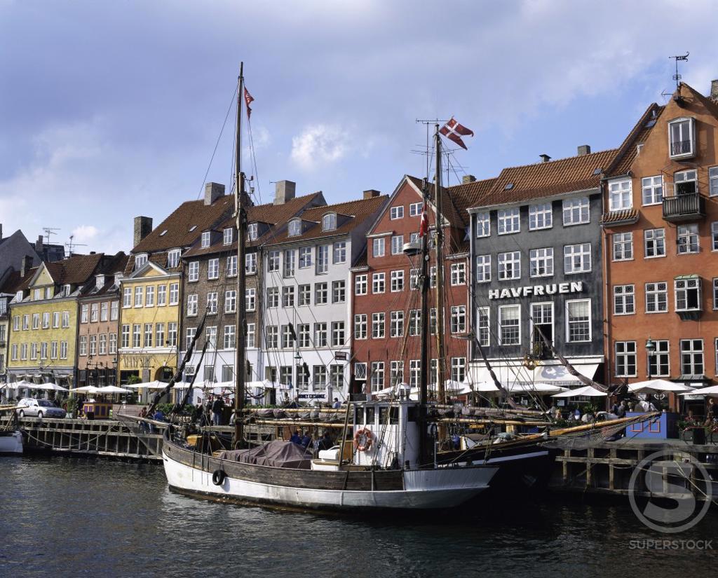 Stock Photo: 2070-730 Nyhavn Copenhagen Denmark
