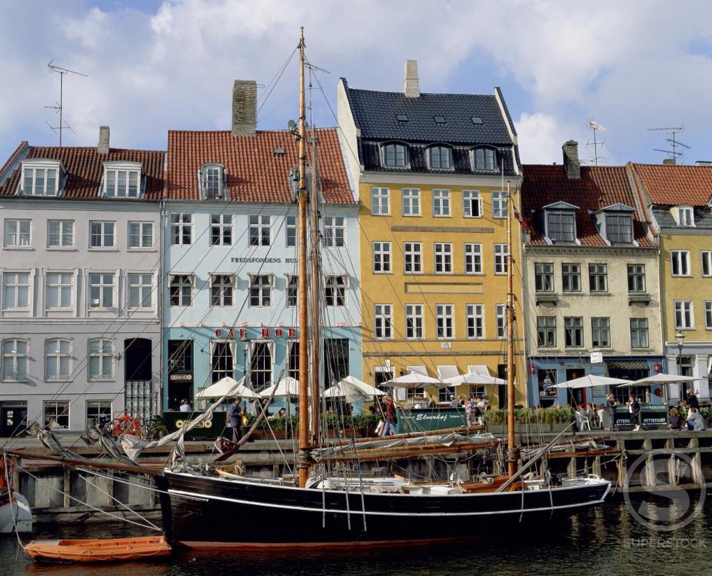 Stock Photo: 2070-834A Nyhavn Copenhagen Denmark