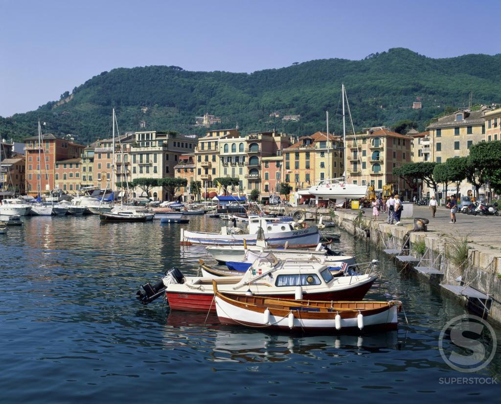 Santa Margherita  Liguria  Italy : Stock Photo
